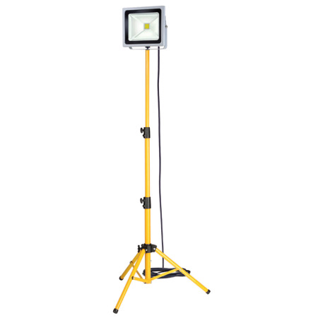 Faro CHIP-LED su treppiede, 50 W